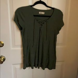 Never worn army green top